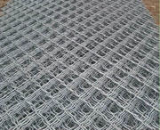 anti-theft window/door Aluminum guards - grid wire mesh