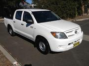 Toyota Hilux 2007 TOYOTA HILUX TGN16R Workmate Dual Cab Ute 2.7