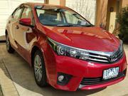 TOYOTA COROLLA 2014 Toyota Corolla ZRE172R ZR Sedan 4dr S-CVT 7sp