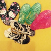 Girls summer shoes,  size 2