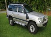 TOYOTA LAND CRUISER 2003 Toyota Landcruiser GXL Auto 4x4
