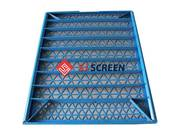 Rectangular shale shaker screen has fine mesh sizes,  good filter finen