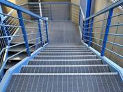 Swage-Locked Grating for Stairs,  Floor,  Walkway,  Fence,  Ceiling