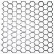 Hexagonal Hole Perforated Mesh for Ventilation and Heat Dissipation