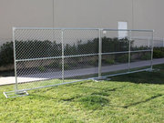 Chain Link Temporary Fencing for Sites Partition