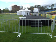 Crowd Control Barrier for Concerts and Sports Events
