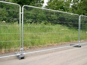 Welded Temporary Fencing - Safety Barrier for building