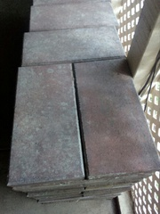 Cheap Clean Pavers - Grey pinkish colouring