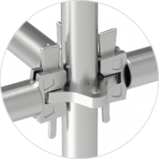 Quicklock Scaffolding – Cross Plate for Firm Scaffolding Connection
